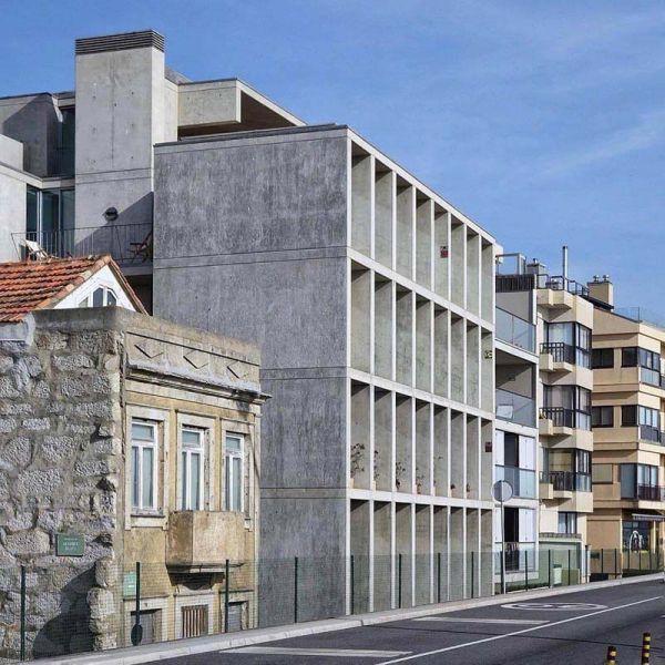 Empreendimento Senhora da Luz, na Foz, com arquitetura de Eduardo de Souto Moura.