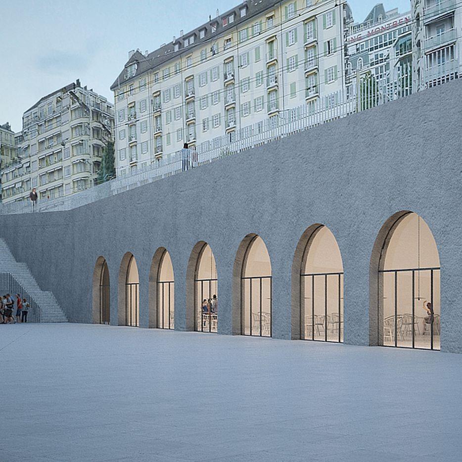 Restaurante MUDAC (Museu do Design e Arte Contemporânea) e Museu Elysée