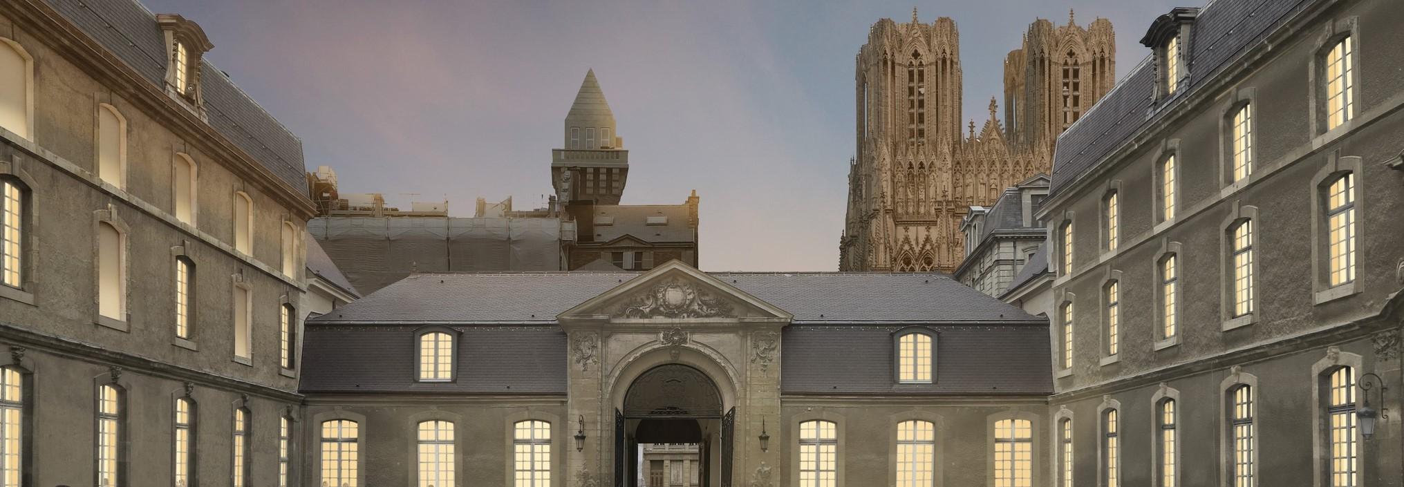 Museu de Belas-Artes de Reims, Aires Mateus