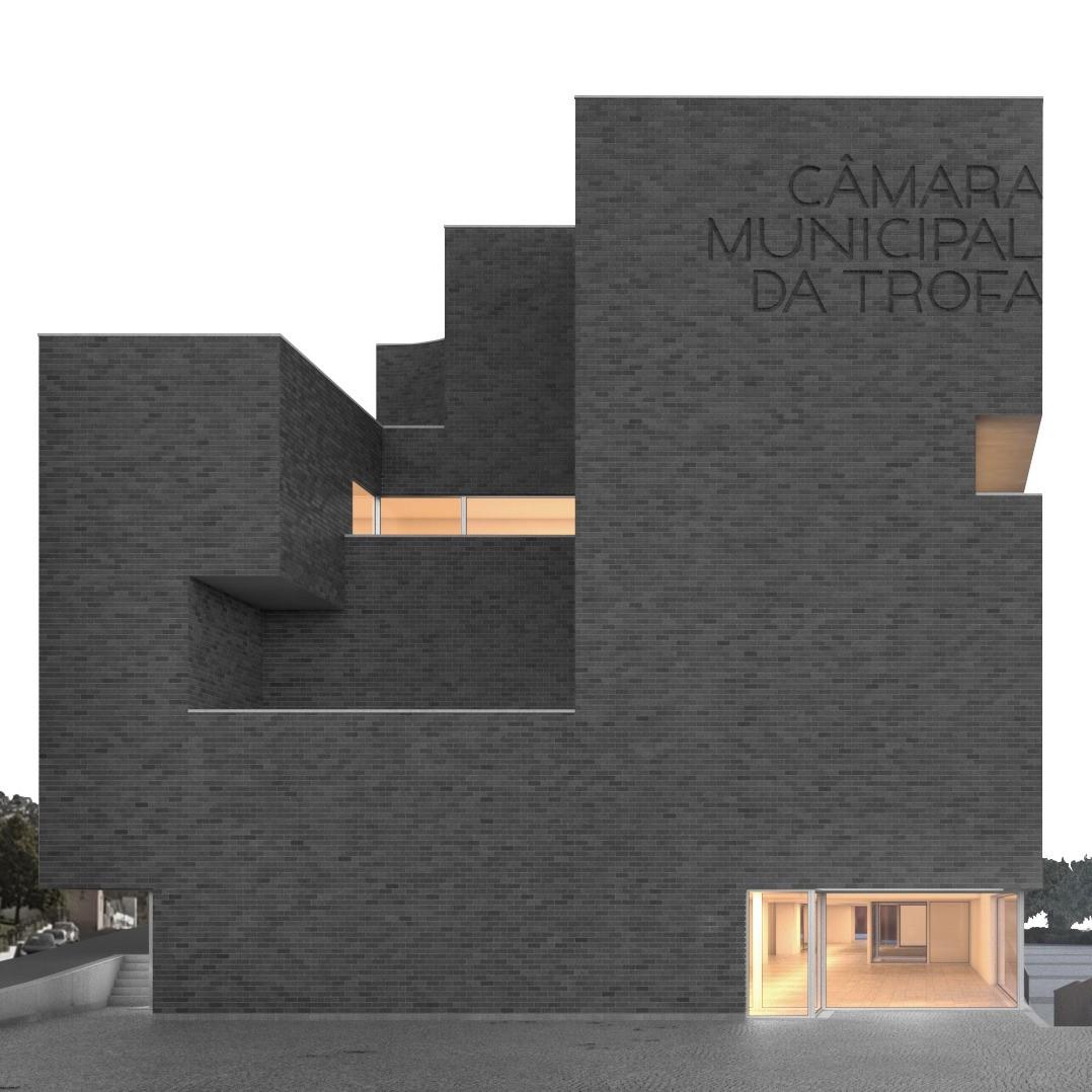 Câmara Municipal da Trofa, com arquitetura de NOARQ.