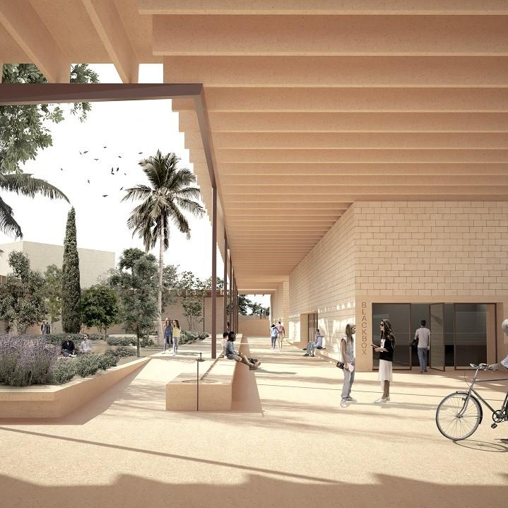 Centro de Educação e Cultura de Quarteira / Quarteira Center for Education and Culture, Pedro Domingos