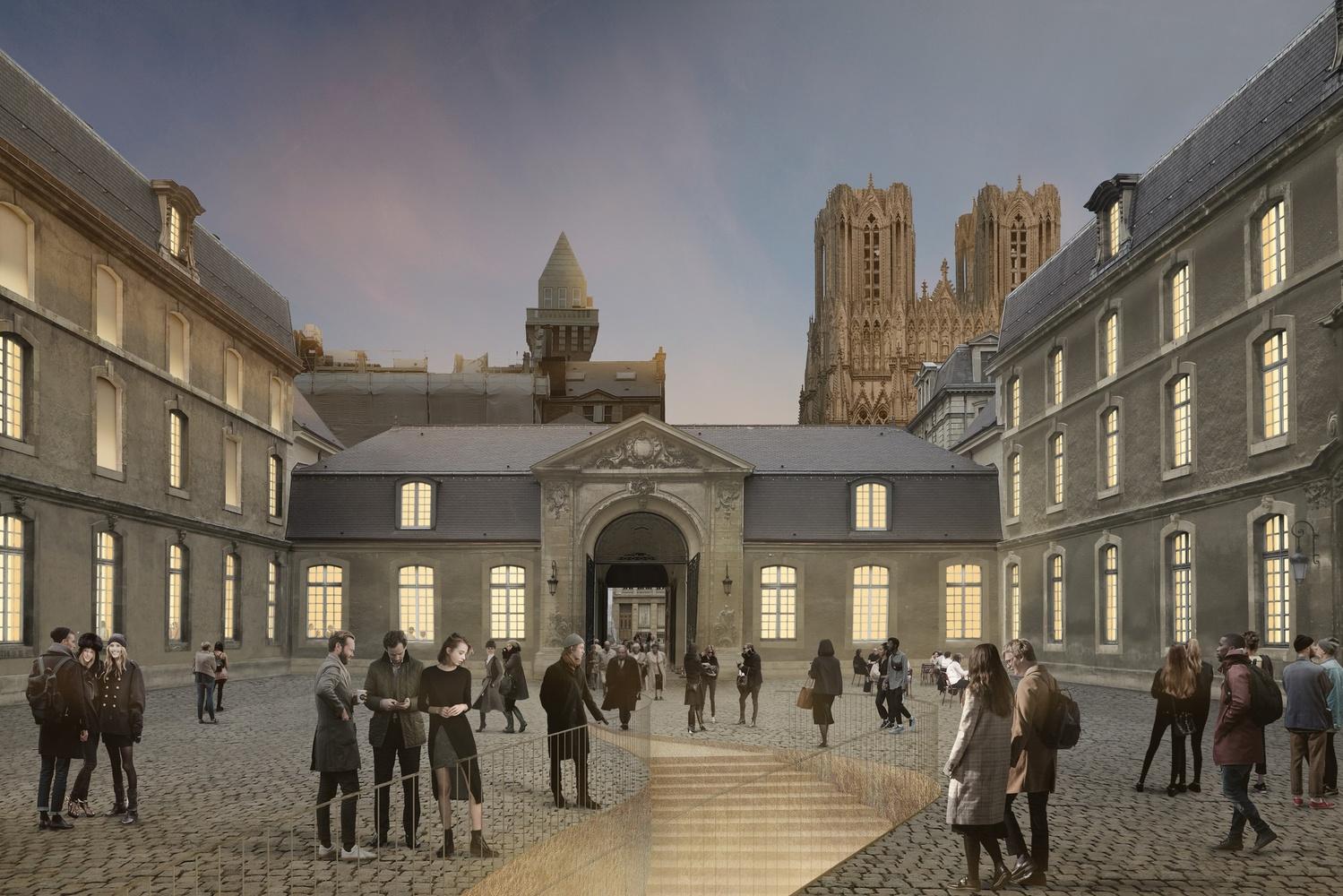 Museu de Belas-Artes de Reims (Musée des Beaux-Arts), Aires Mateus